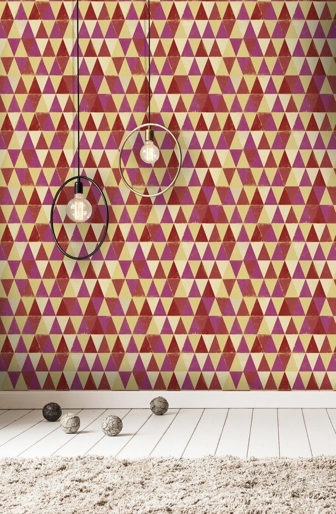Wallpaper - Circus Pattern