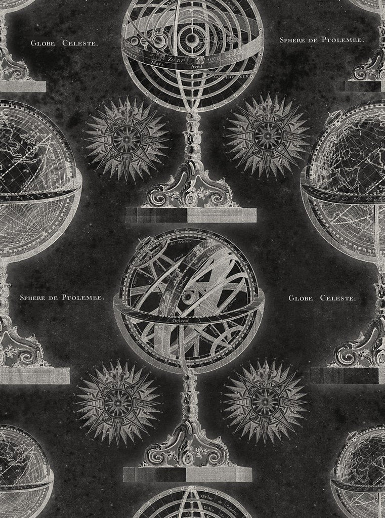Wallpaper - Armillary Anthracite