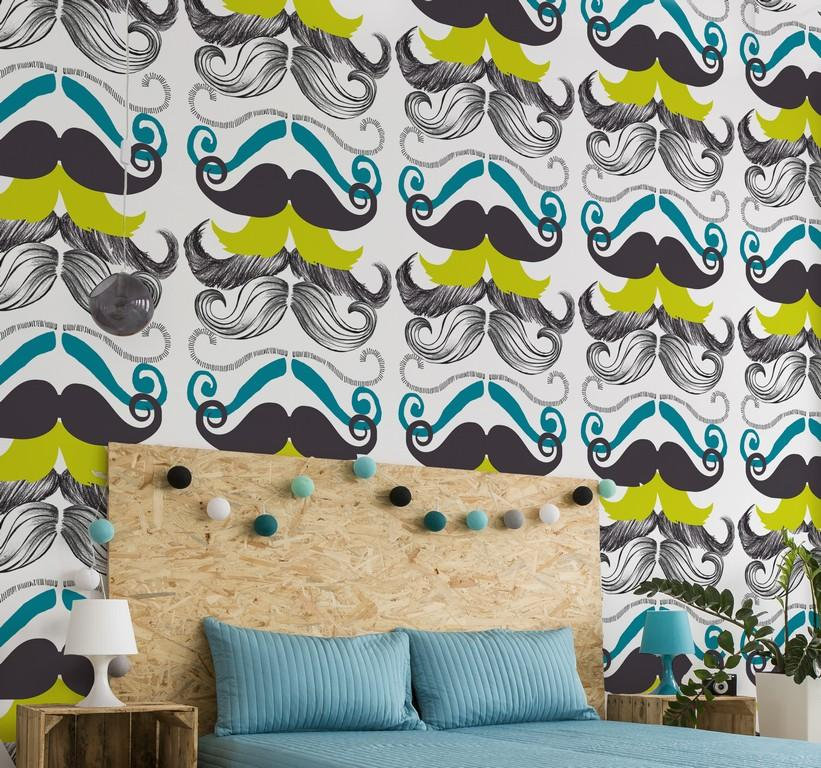 Wallpaper - Different Moustaches