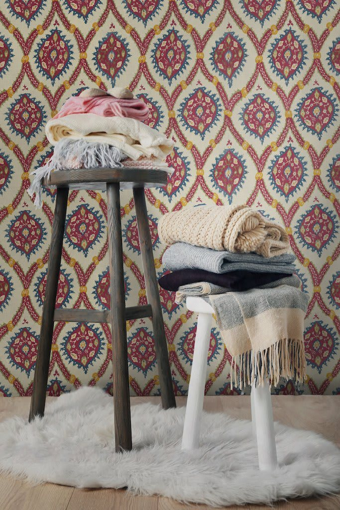 Ottoman Taupe - Mind The Gap Wallpaper