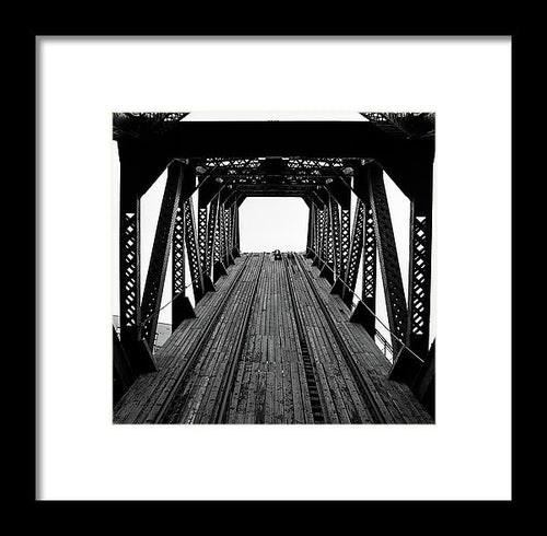 A Bridge To Nowhere Nr.2 - Framed Print
