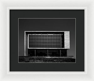 Northwestern University Segal Visitor Center - Framed Print