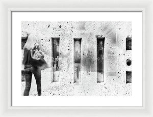 Permanent Storage - Framed Print