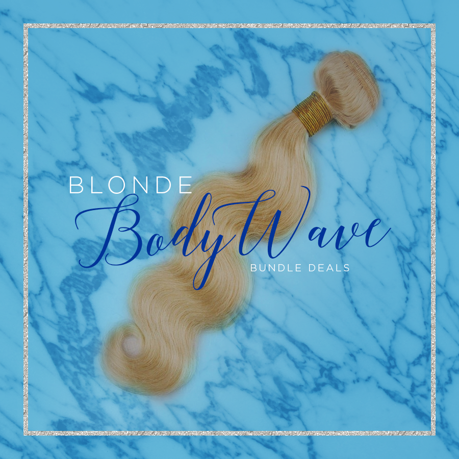 Blissful Blonde Body Wave Hair Extensions Foreignhairheaven