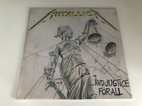 Lp Metallica ...and justice for all