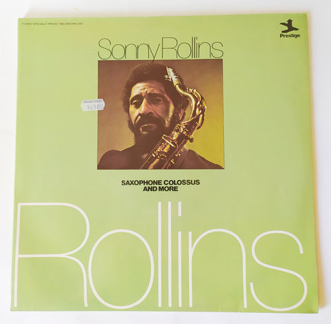 LP SONNY ROLLINS SAXOPHONE COLOSSUS AND MORE