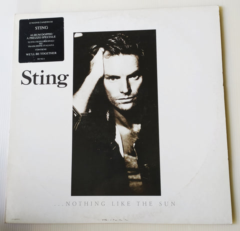 LP STING NOTHING LIKE THE SUN