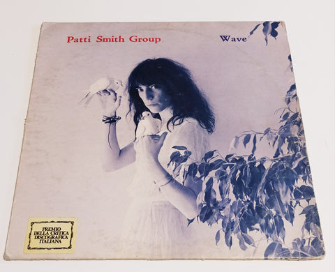 "LP PATTI SMITH GROUP ""WAVE"" 1979 MADE IN ITALY"