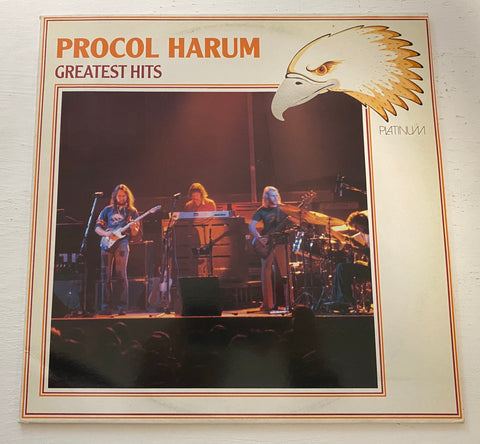 LP PROCOL HARUM GREATEST HITS PRINTED WEST GERMANY