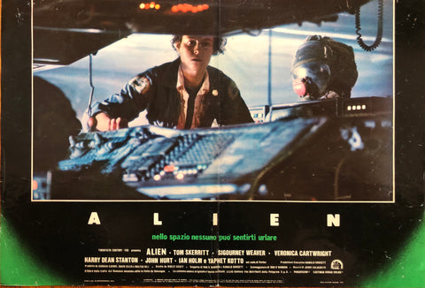 Fotobusta Alien 1979 Italy Press