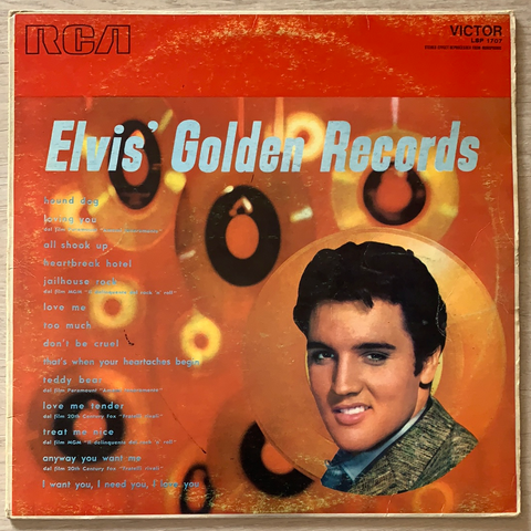 LP ELVIS' GOLDEN RECORDS - ELVIS