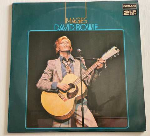 LP DAVID BOWIE - IMAGES DERAM 2 LP DPAI 3017/8 UK PRESS 1966/1967