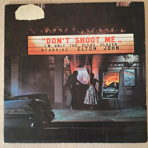 LP DON'T SHOOT ME - ELTON JOHN