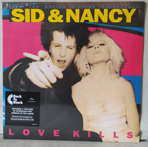 LP SID & NANCY FROM THE MOTION PICTURE SOUNDTRACK LOVE KILLS