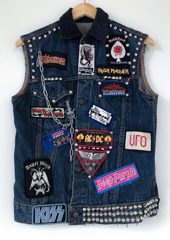 Giacca Levis Metal Tribute 80's