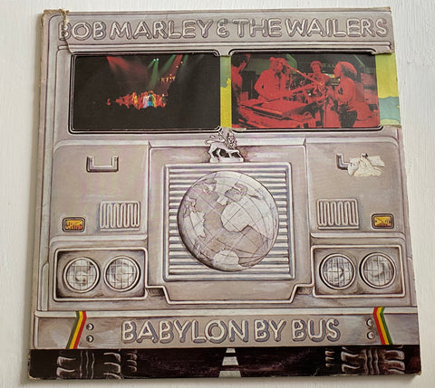 LP BOB MARLEY AND THE WAILERS - BABYLON BY BUS ITALIA 1978