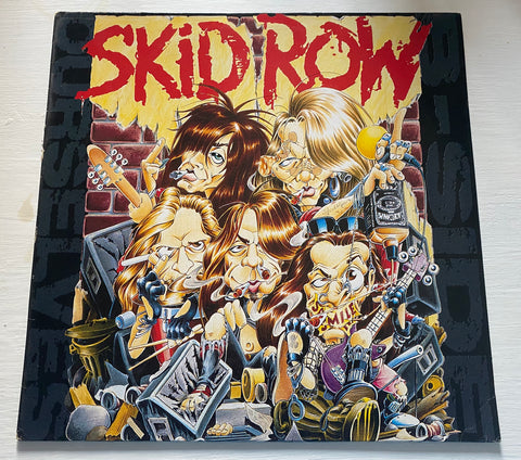 LP SKID ROW - B-SIDE OURSELVES ATLANTIC EUROPE 1992