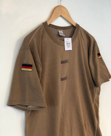 T shirt Kaki West.Germany 90's All size