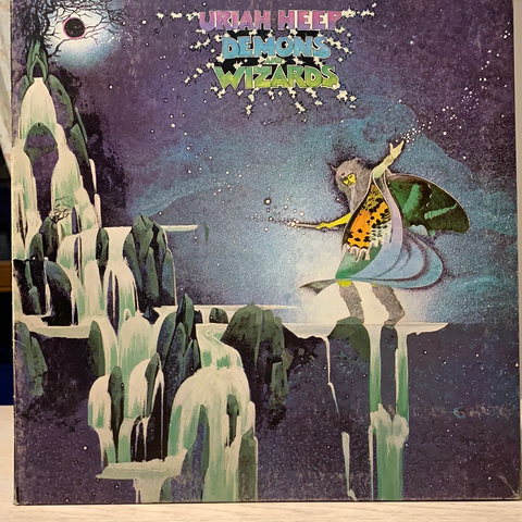 LP DEMONS AND WIZARDS - URIAH HEEP