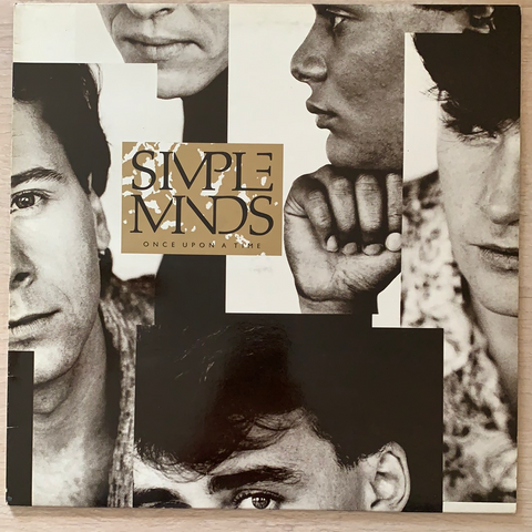 LP ONCE UPON A TIME - SIMPLE MINDS 2