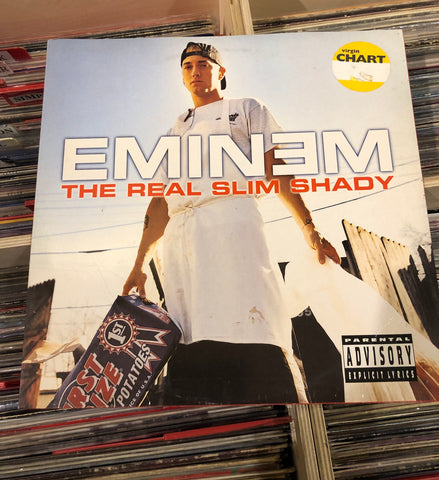 LP Eminem the real Slim Shady 2000