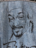 Giacca Denim Handmade Snoop Dog tribute 90's