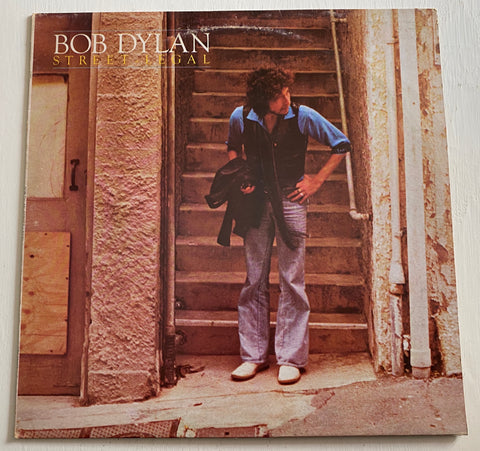LP BOB DYLAN STREET LEGAL CBS 86067 ITALIA