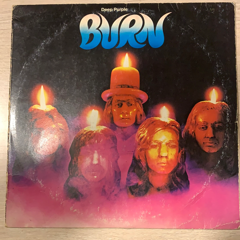LP BURN - DEEP PURPLE