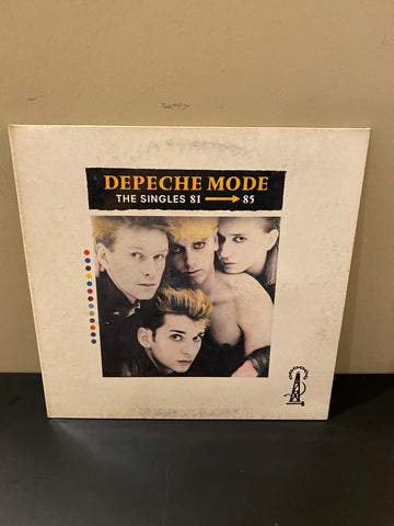 LP DEPECHE MODE THE SINGLES 81-85