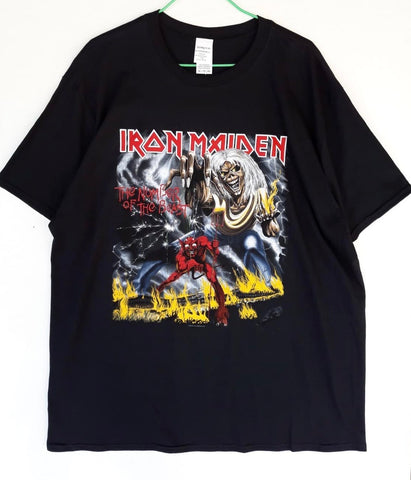 T-Shirt Iron Maiden Official Tg XL