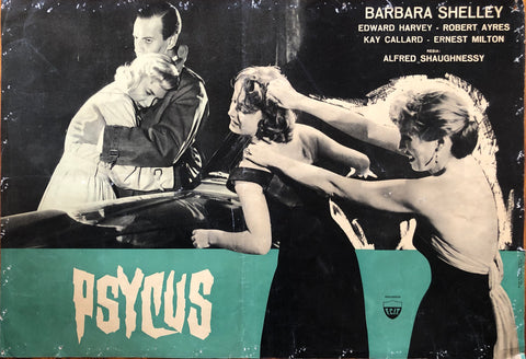 Fotobusta Psycus Italy Press 1957