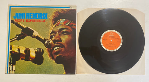 "LP JIMI HENDRIX ""MORE EXPERIENCE"" FONIT CETRA PL 427 ITALY ITALIA"
