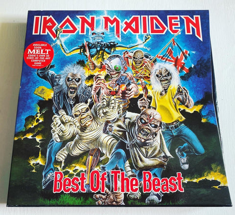 IRON MAIDEN ‎– Best Of The Beast UK 1996 4 LP BOX SET
