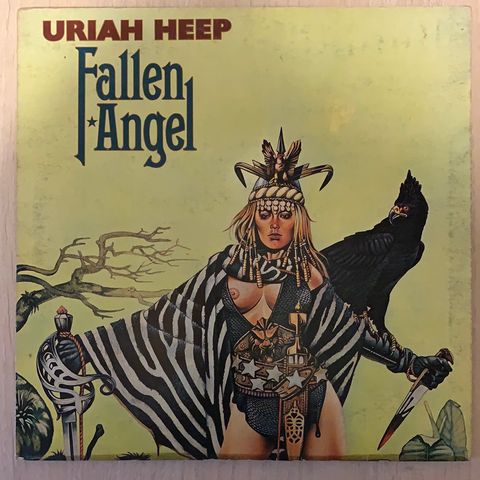 LP FALLEN ANGEL - URIAH HEEP