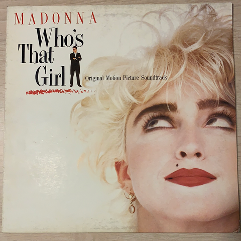 LP WHO'S THAT GIRL - MADONNA 2