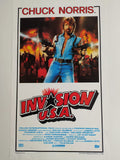 Locandina Invasion USA 1985 italy original