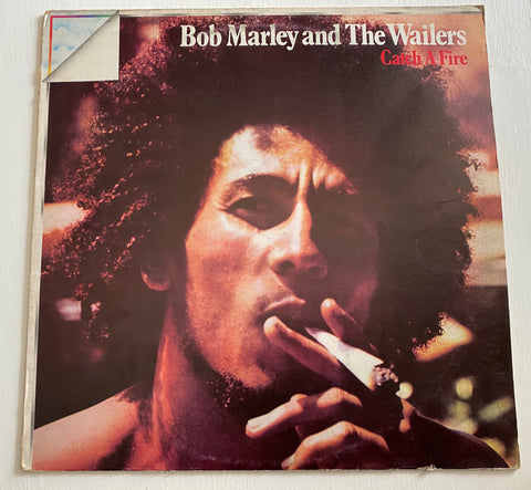 LP BOB MARLEY AND THE WAILERS - CATCH A FIRE ANNO 1973 ITALIA PRESS