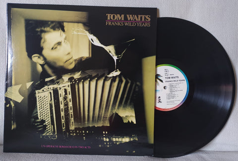 LP TOM WAITS FRANKS WILD YEARS