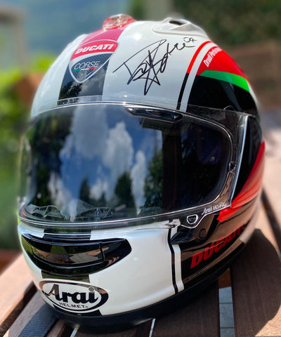 Casco Arai GP MUGELLO SIGNED Dovizioso