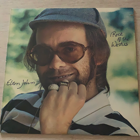 LP ROCK OF THE WESTIES - ELTON JOHN
