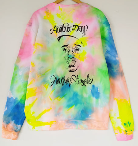 Felpa B.I.G Tribute HIP HOP Collection Tie Dye