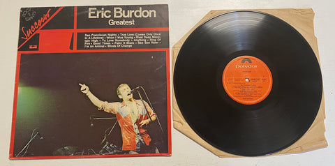 LP ERIC BURDON GREATEST ITALY ITALIA POLYDOR ANIMALS
