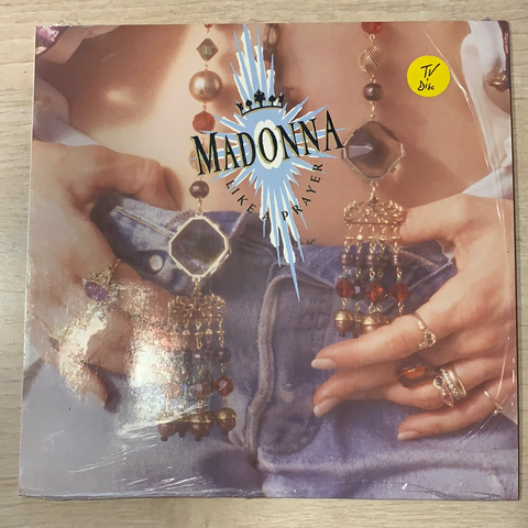 LP LIKE A PRAYER - MADONNA 3