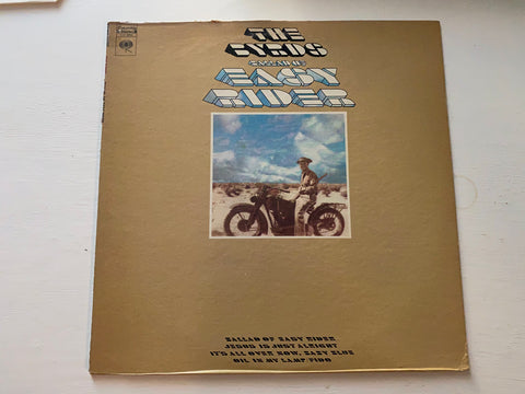 LP THE BYRDS BALLAD OF EASY RIDER COLUMBIA CS 9942 MADE IN USA