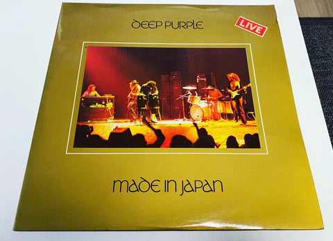 LP Deep Purple Made In Japan 1972