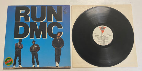 LP RUN DMC - TOUGHER THAN LEATHER UK PRESS 1988