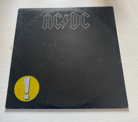 LP AC/DC - BACK IN BLACK - ITALY ATLANTIC W 50735
