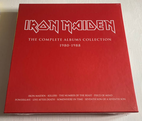 Iron Maiden ‎– The Complete Albums Collection 1980-1988