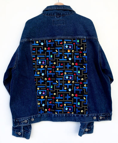 Giacca jeans 90's PACMAN TgL