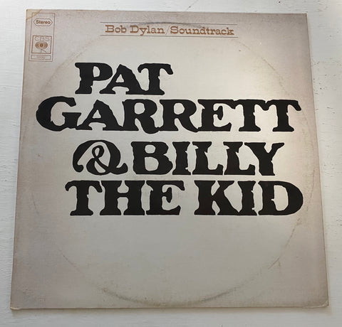 LP PAT GARRETT E BILLY THE KID BOB DYLAN SOUNDTRACK CBS 69042 ITALIA 1973